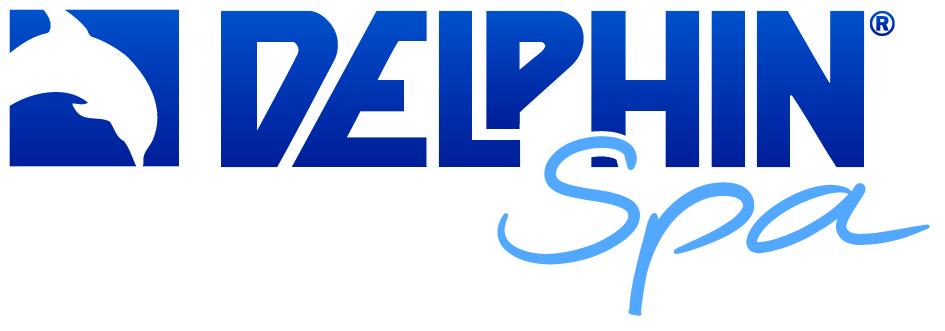 Delphin Spa logga, ta hand om ditt spabad
