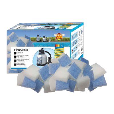Filterkuber, filtermedia i textil