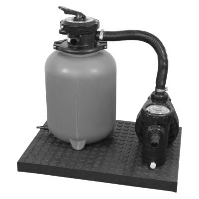 Filter och pumpar