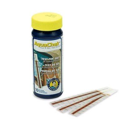 Teststickor Aquachek White, Natriumklorid (Salt) - 10 styck