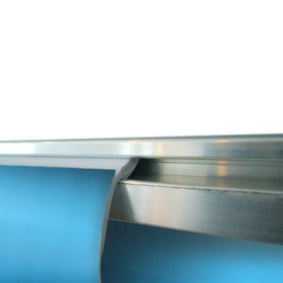 Snäpp-in list aluminium