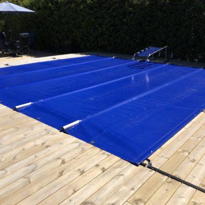 Barcover B2.1 för pool 6,25 x 3,6 m, blått