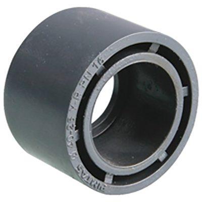 PVC Reducering kort Ø 63 / 50 mm